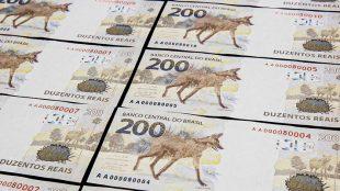 Banco Central coloca nota de R$ 200 em circulação e lobo vira meme
