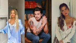 Luísa Sonza, Luan Santana e Giulia Be farão uma live juntos