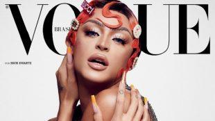 Pabllo Vittar é capa do mês de outubro da revista Vogue Brasil