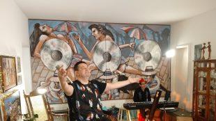 André Rio comemora aniversário com show online