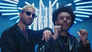 Maluma lança música em parceria com The Weeknd