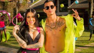 Confinada em 'A Fazenda', MC Mirella lança música com Dadá Boladão