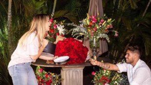 Cantor sertanejo Zé Felipe pede influencer em casamento