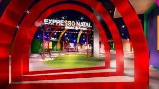 Allianz Parque recebe o projeto 'Expresso Natal'