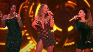 Mariah Carey lança 'Oh Santa!' com Ariana Grande e Jennifer Hudson