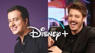 Fábio Porchat e Rafael Cortez participam de séries da Disney Plus