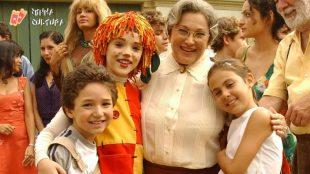 Nicette Bruno como Dona Benta, no Sítio do Pica-Pau Amarelo