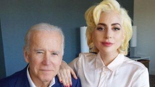 Lady Gaga vai cantar hino dos EUA na posse de Joe Biden