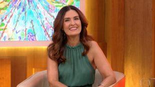 Após cirurgia, Fátima Bernardes se emociona em volta ao 'Encontro'