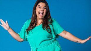 Fabiana Karla vai apresentar programa para o Dia da Mulher