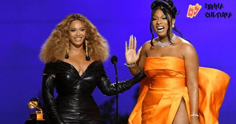 Megan Thee Stallion e Beyoncé.