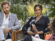 Meghan e Harry em entrevista para Oprah Winfrey.