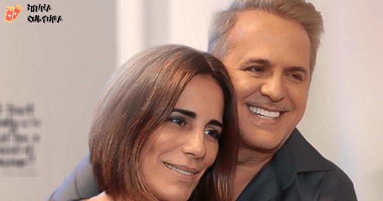 Orlando Morais e  Gloria Pires.