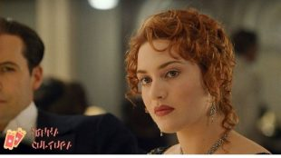 Kate Winslet como Rose em cena de Titanic