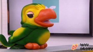 O boneco Louro José interpretado por Tom Veiga