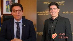 Mario Frias e Marcelo Adnet