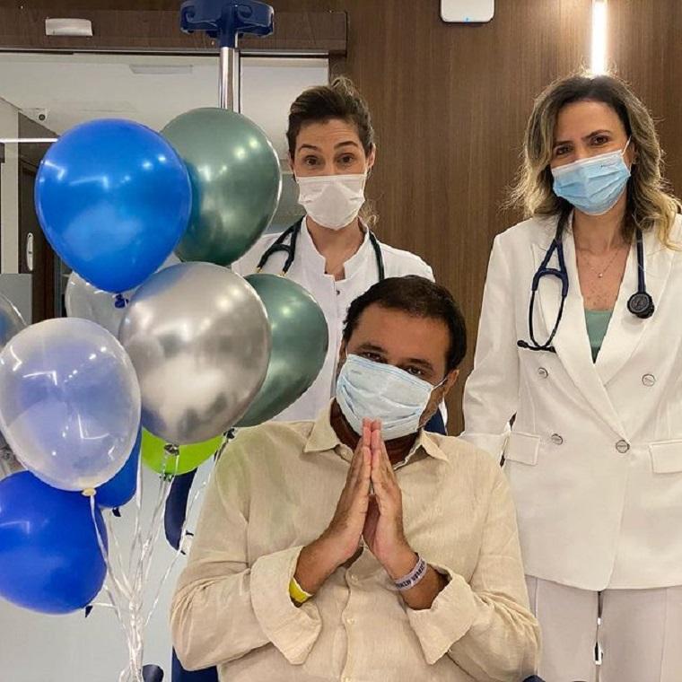 Geraldo Luís e as médicas.