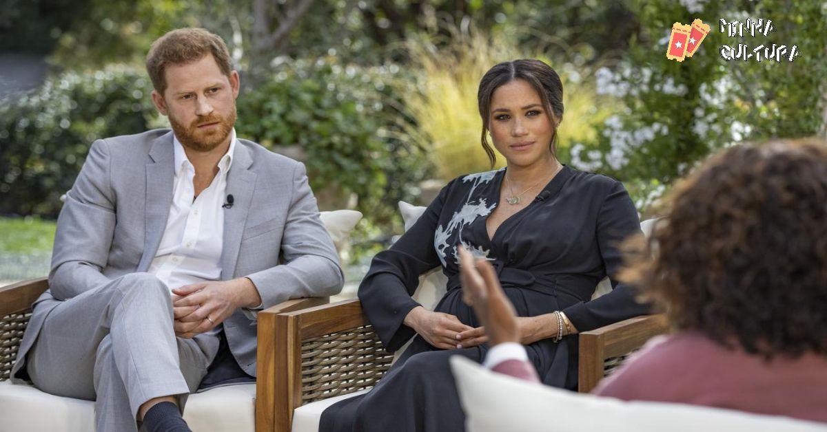 Meghan Markle e Harry em entrevista à Oprah