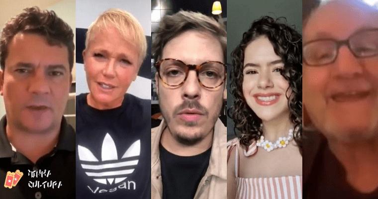 Moro, Xuxa, Porchat, Maisa