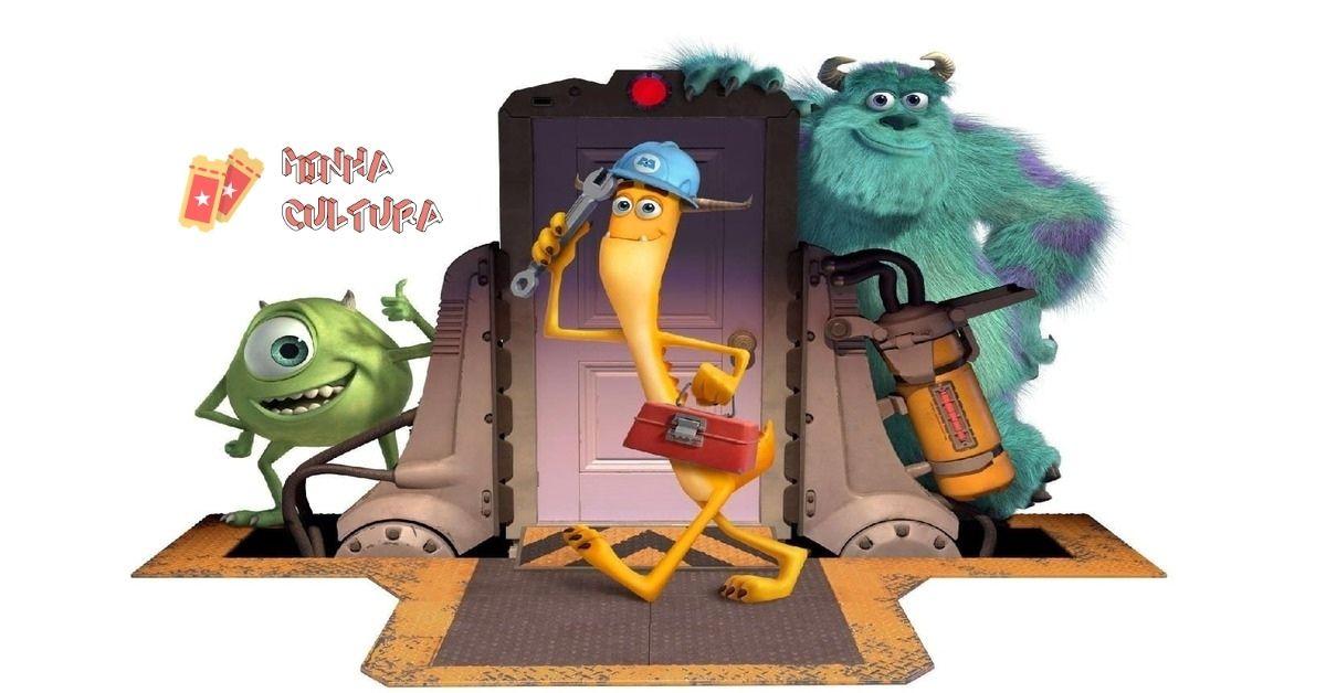 Personagens novos de Monstros At Work