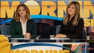 "Resse e Jennifer em ""The Morning Show"""