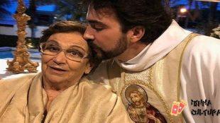 Com Covid-19, mãe de Padre Fabio de Melo tem piora e é internada na UTI
