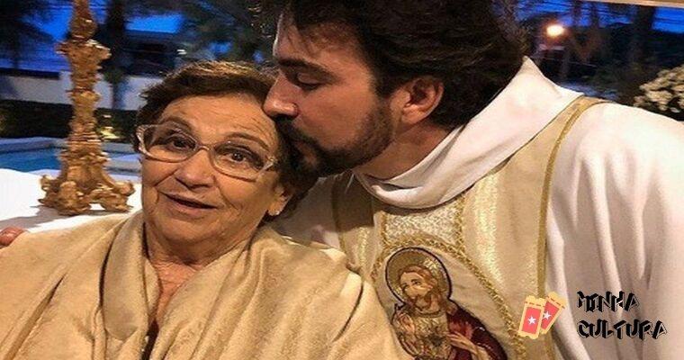Fabio de Melo e a mãe Ana Maria