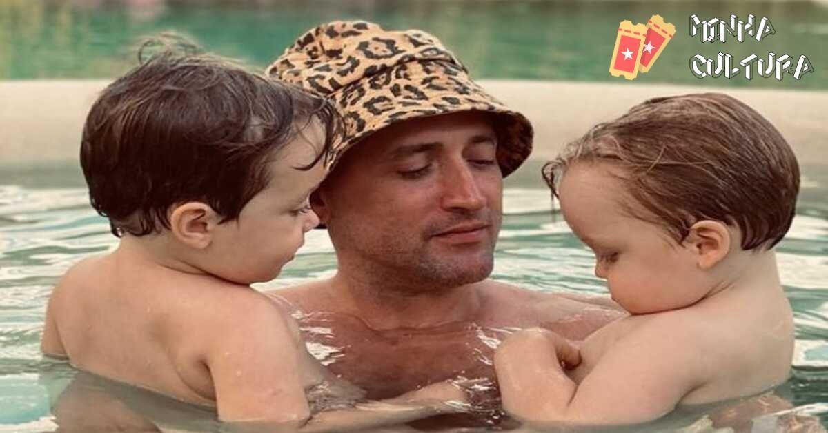 Paulo Gustavo e os filhos