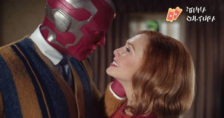 Wanda e Vision em cena