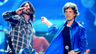 Dave Grohl e Mick Jagger