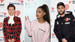Harry Styles, The Weeknd e Ariana Grande