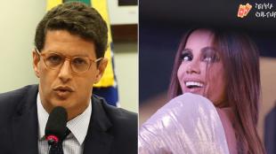 Ricardo Salles e Anitta