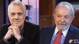 Pedro Bial é criticado após resposta sobre entrevista com Lula