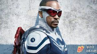 Marvel divulga pôster oficial de Sam Wilson como Capitão América