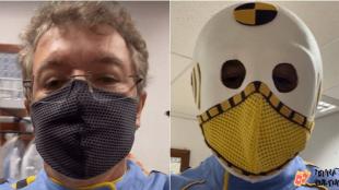 BBB: Boninho  viraliza nas redes sociais ao participar da festa vestido de dummy