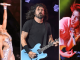 Selena Gomez, Foo Fighters e Jennifer Lopez