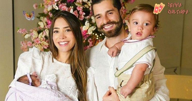 Alok, Romana Novais e filhos