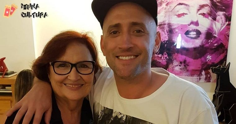 Paulo Gustavo e mãe