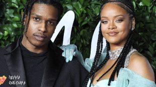 A$AP Rocky assume namoro com Rihanna: 'O amor da minha vida'