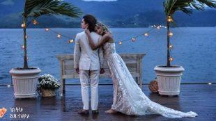 Sasha Meneghel compartilha fotos do casamento com João Figueiredo