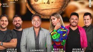 Marilia Mendonça, Jorge e Mateus, Leonardo e Bruno e Marrone