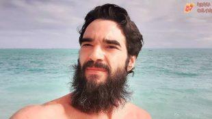 Caio Blat compartilha áudio hilário da avó pedindo que ele tire a barba