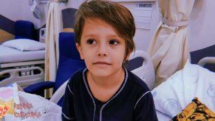'Força Chico': Menino diagnosticado com leucemia comove as redes