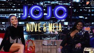 Jojo Todynho entrevista Juliana Paes na estreia do seu talk show