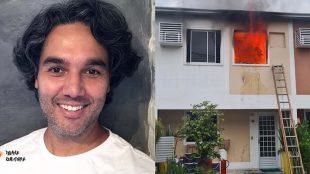 Casa de ator pega fogo e artistas fazem vaquinha para ajudá-lo