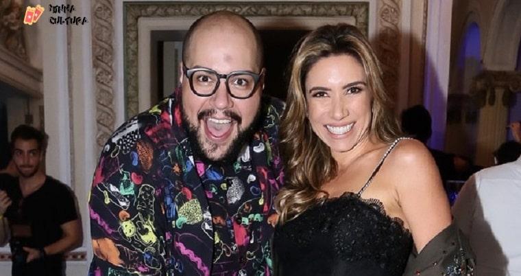 Patrícia e Tiago Abravanel