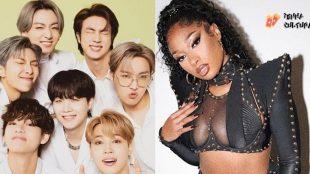 Após ação judicial, BTS e Megan Thee Stallion lançam parceria