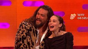 Jason Momoa e Emilia Clarke
