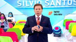 Silvio Santos é internado na UTI com Covid-19