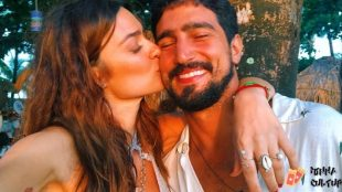 Thaila Ayala está grávida do primeiro filho com o ator Renato Góes